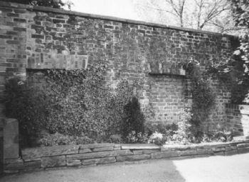 Wall of Turner Heath mill